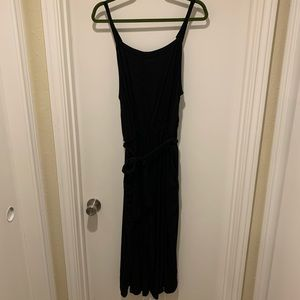 Old Navy Black Tank Jumpsuit with Sash